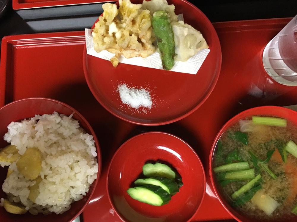 Vegetarian kaiseki in Nikko