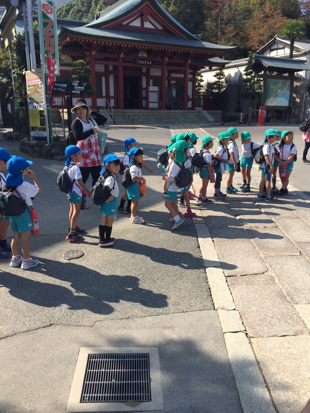 School trip to Miyajima
