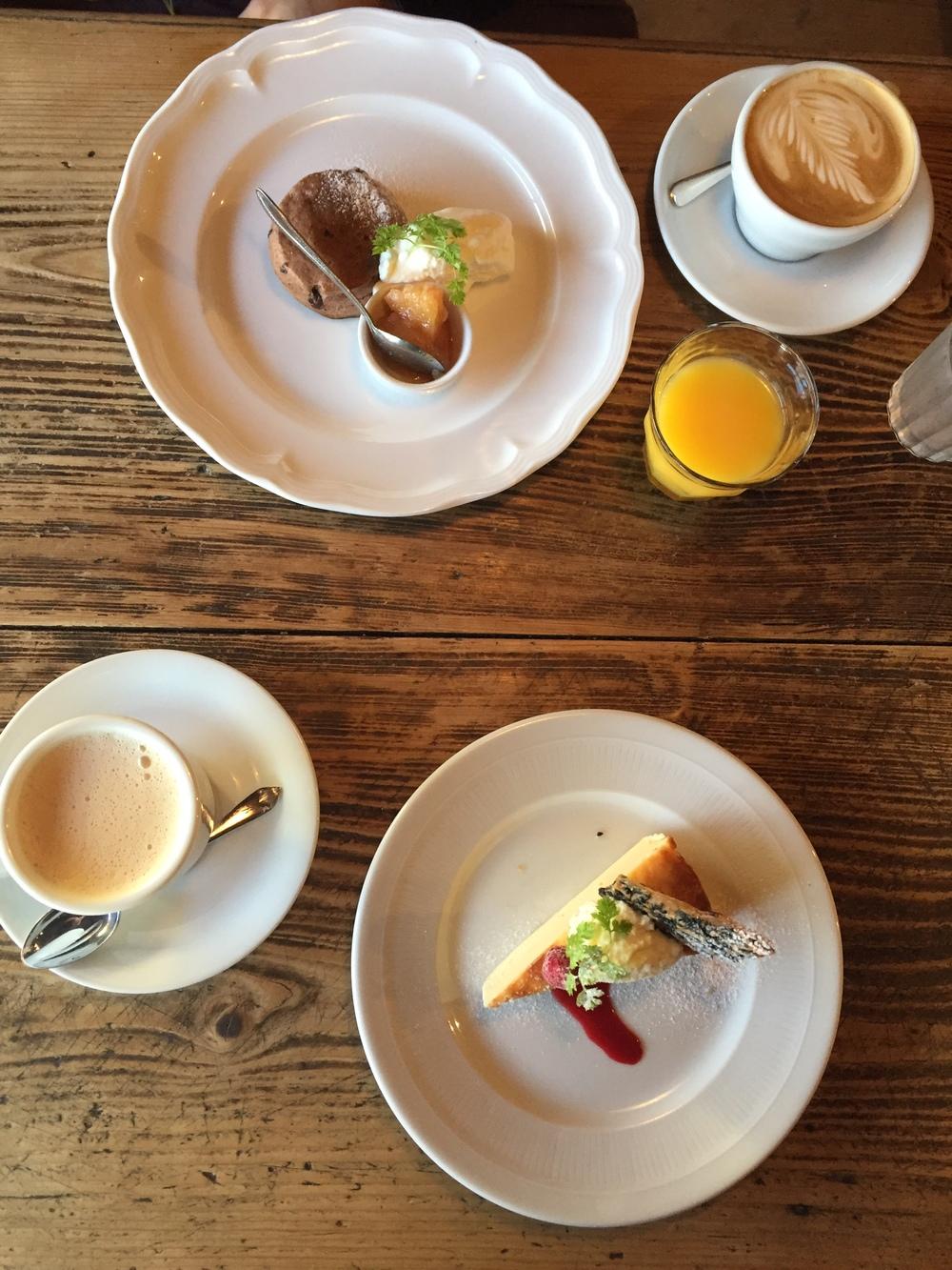 Breakfast in Miyajima