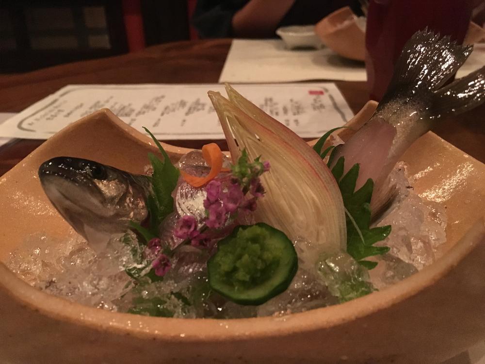 Kaiseki - sashimi