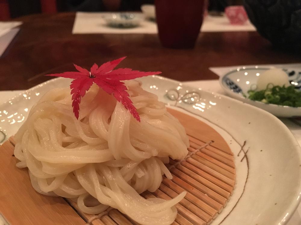 Kaiseki - udon