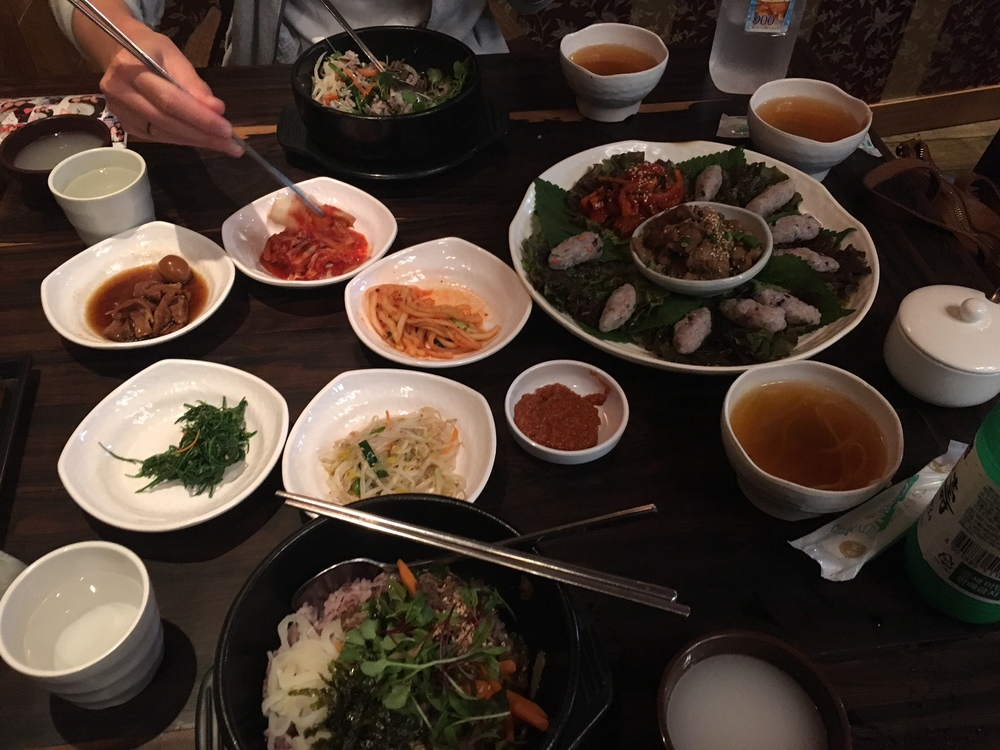Nom nom Korean food