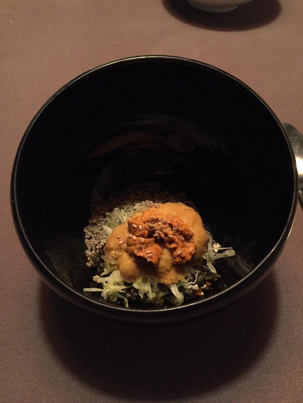 Jungsik Uni bowl
