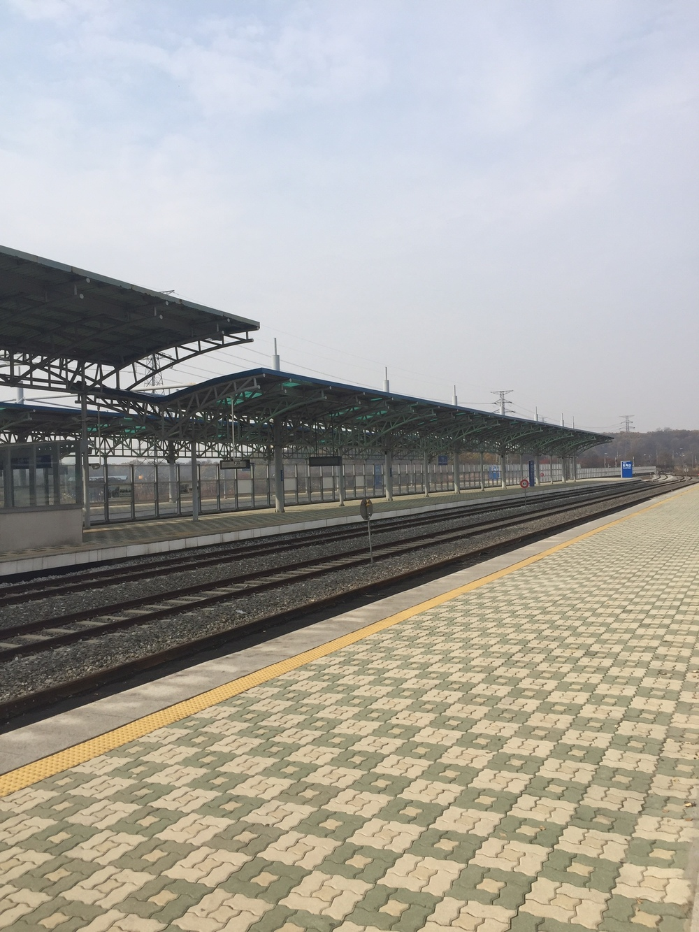 Train station to NK (not in use)