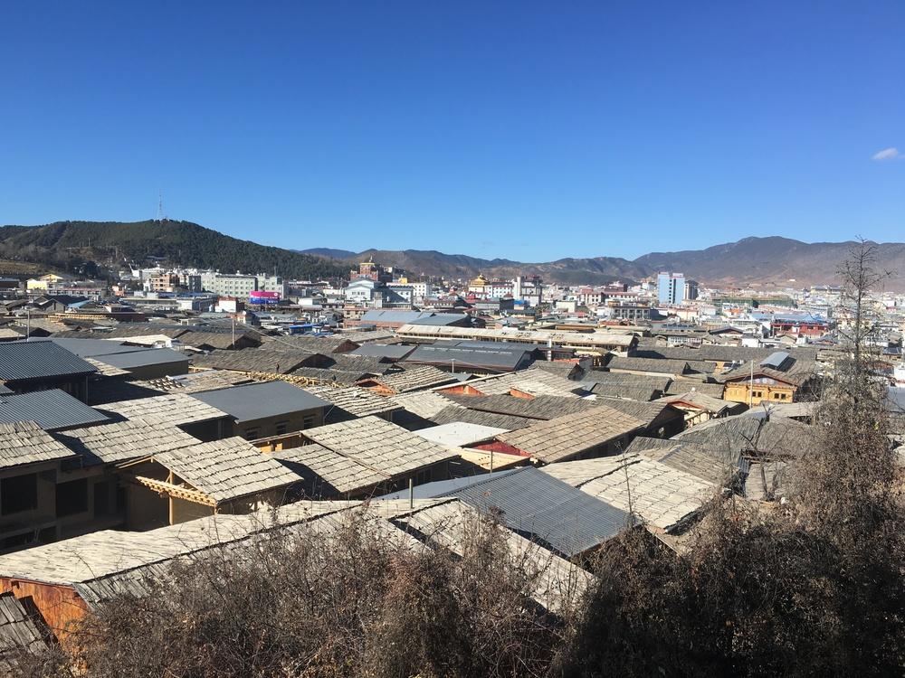 View of Shangri La from Guishan Park