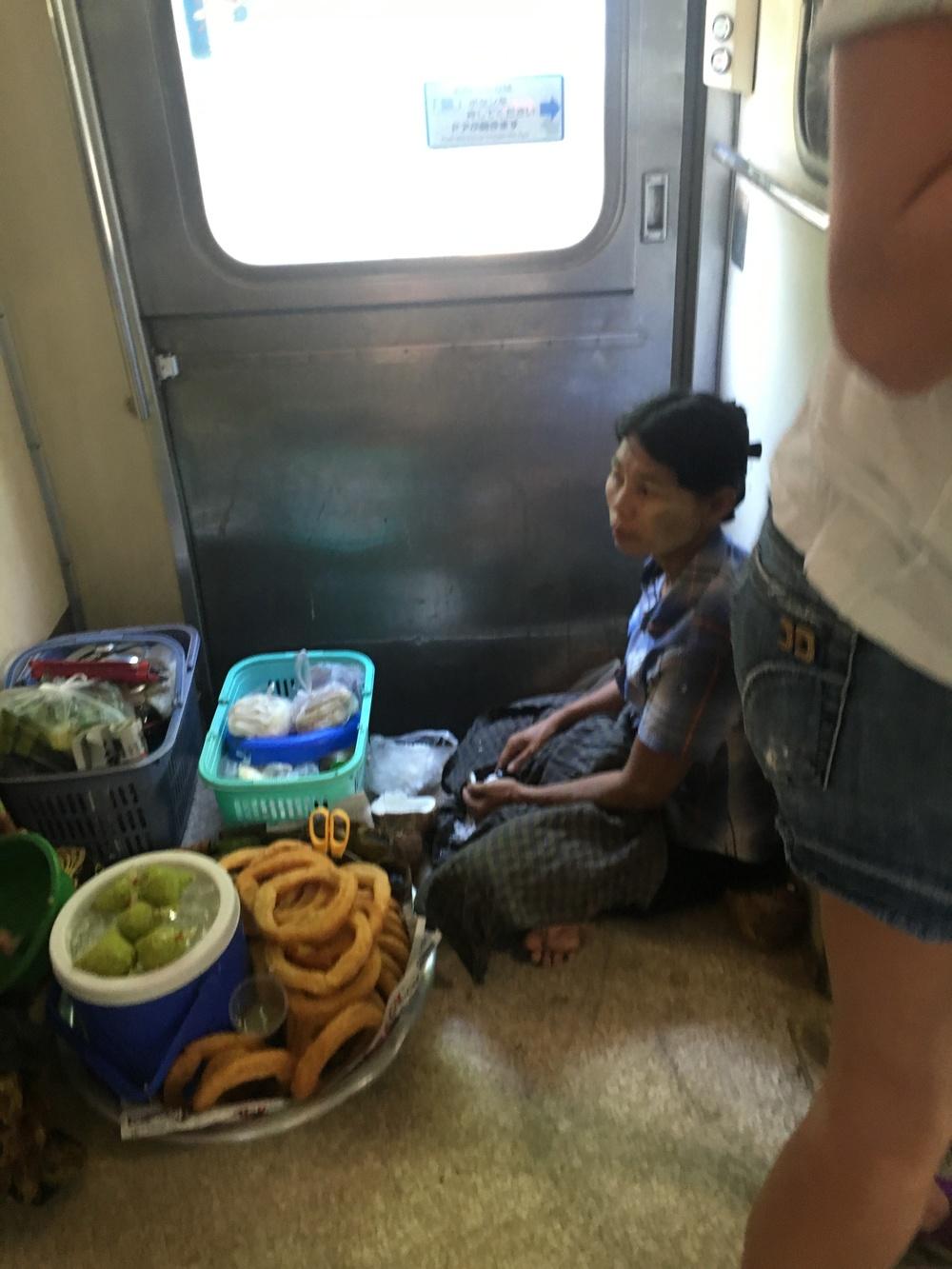 Train snacks