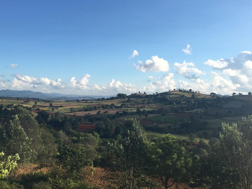 Myanmar or Tuscany?