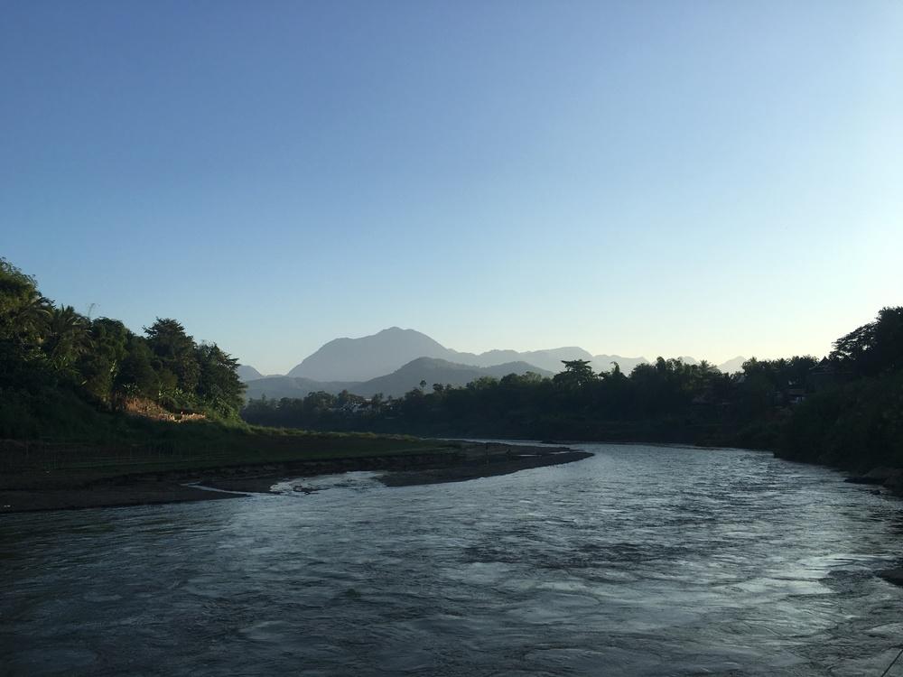 Mekong tributary in Luang Prabang