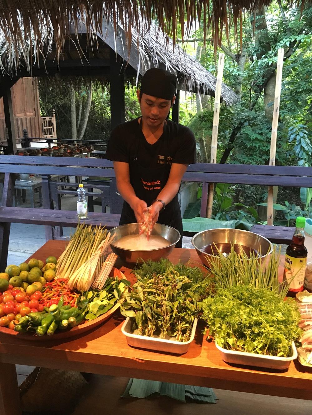 Tamarind cooking class