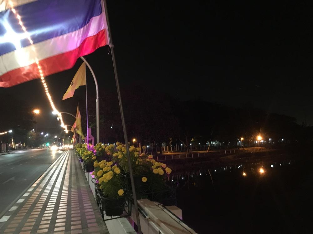 Ping river at night