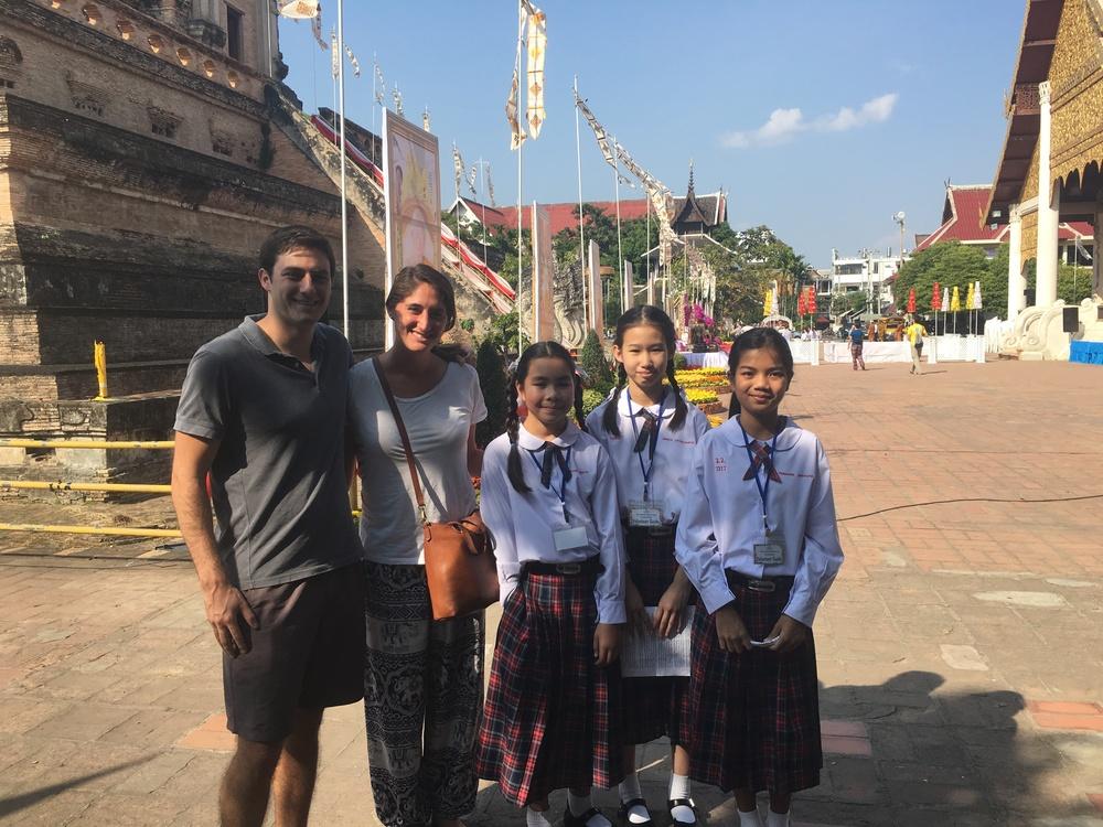 Volunteer tour guides