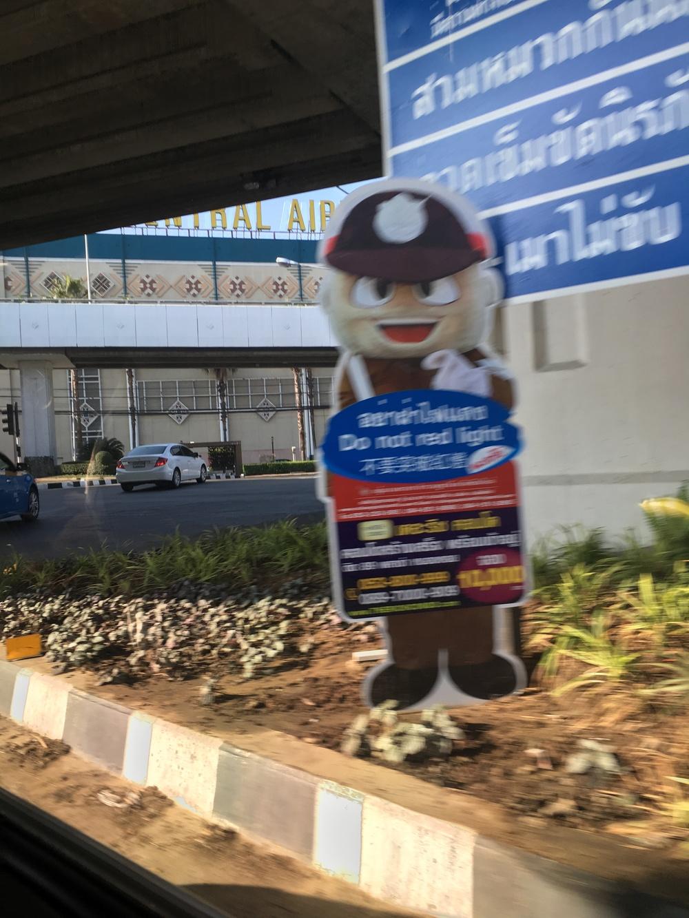 Friendly traffic cop
