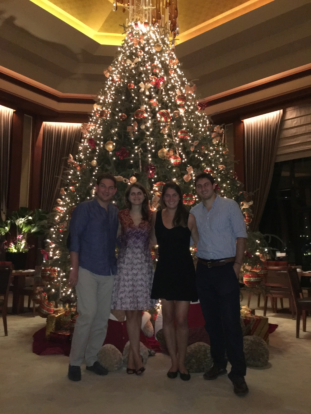 Christmastime at the Peninsula with Phil + Lucy!