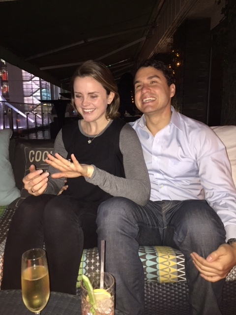 Katherine + Joe got engaged!