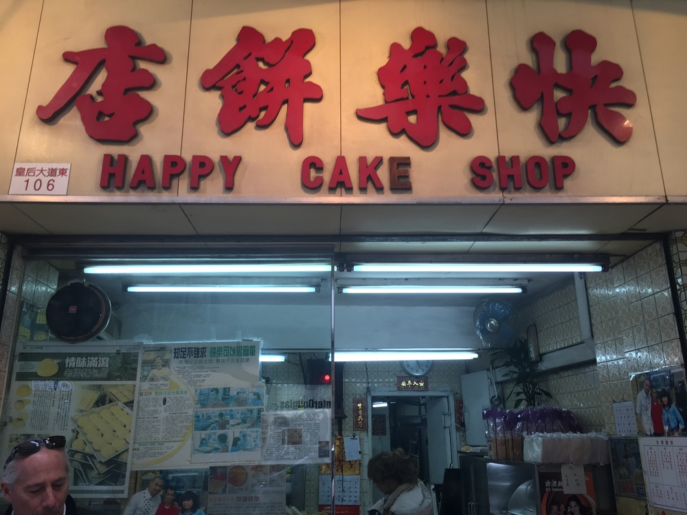 The happiest of cake shops