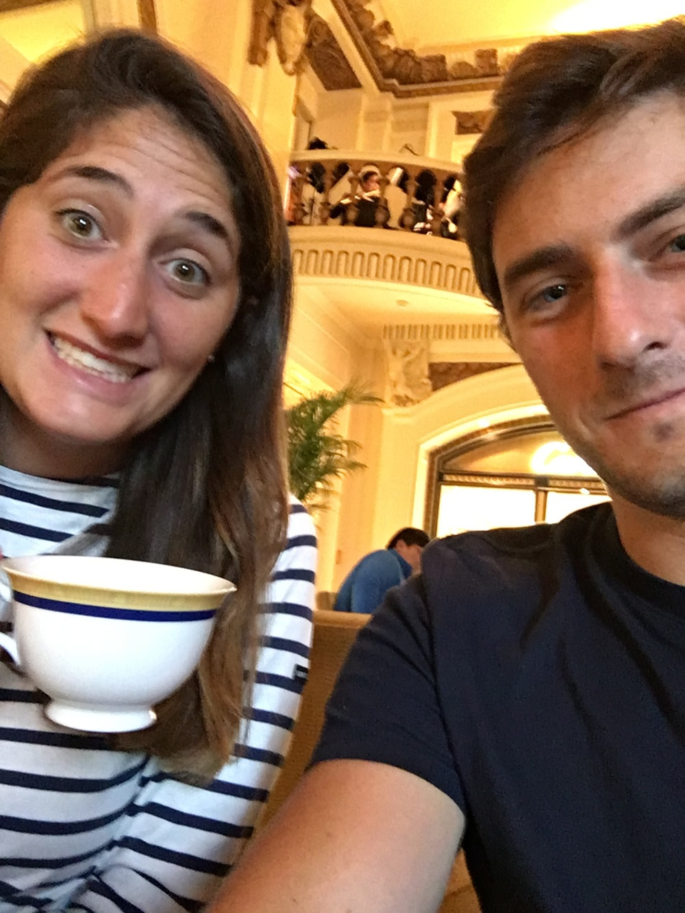 Tea time at the Peninsula!