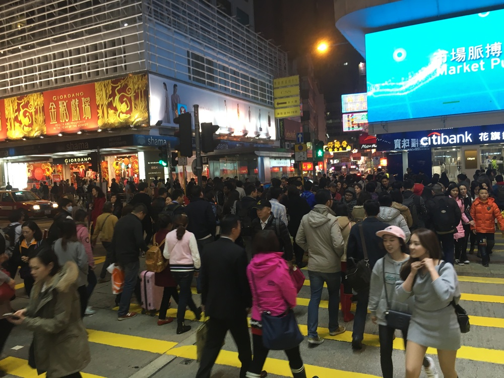Kowloon crowds