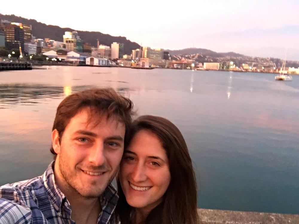 Golden Hour in Wellington
