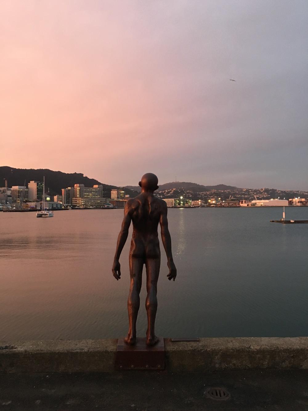 Wellington Harbor sculpture