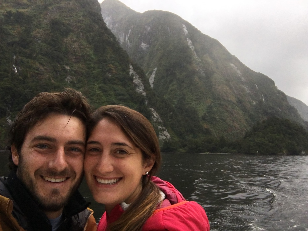 Doubtful Sound selfie