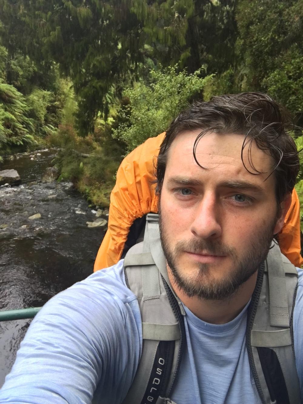 Rakiura Track selfie