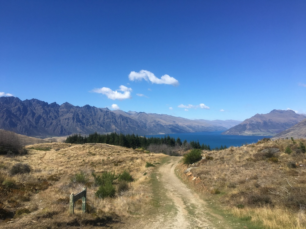 View from Queenstown Hill Hike
