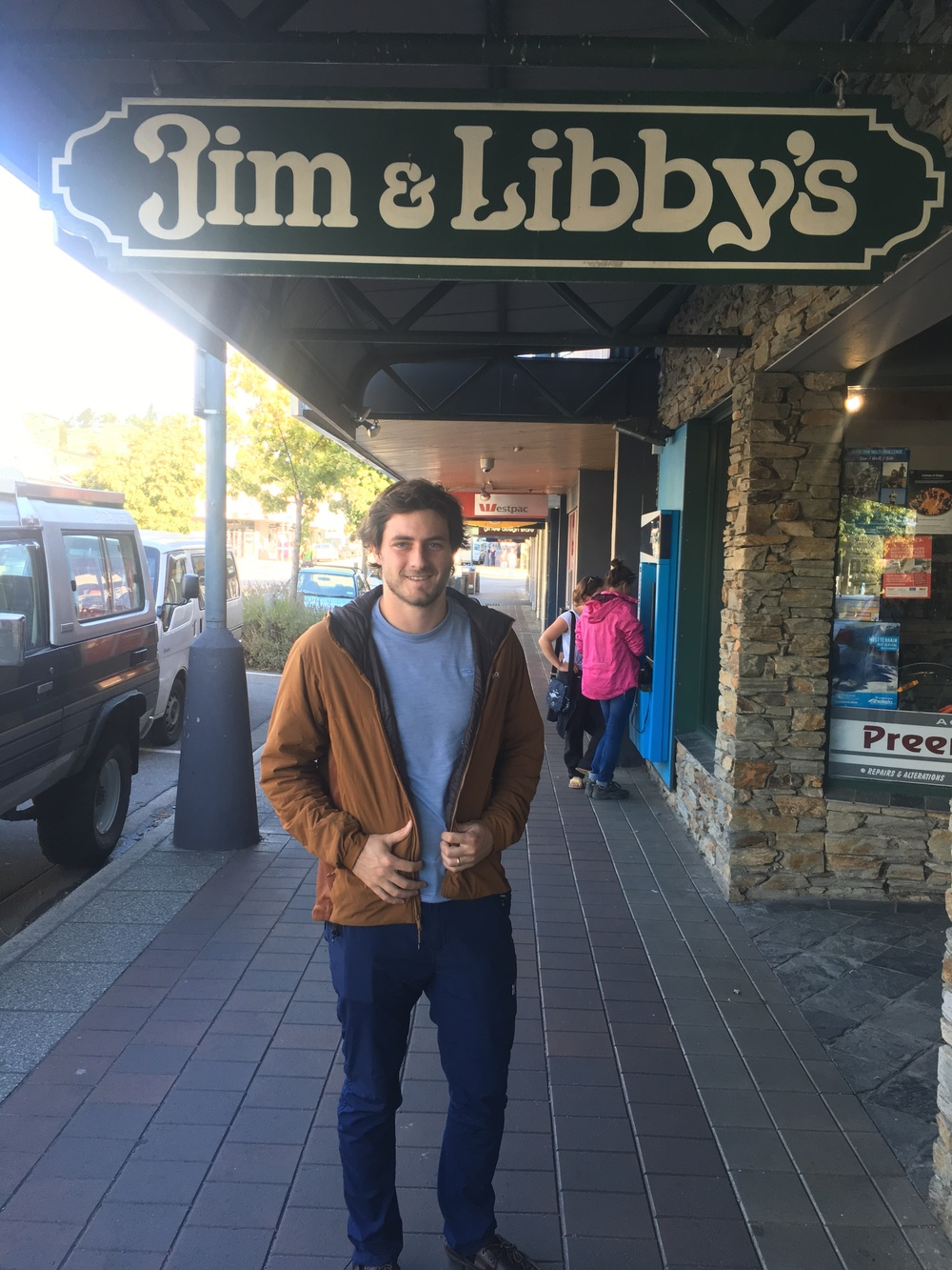 Jim + Libby - we found your store in Wanaka!