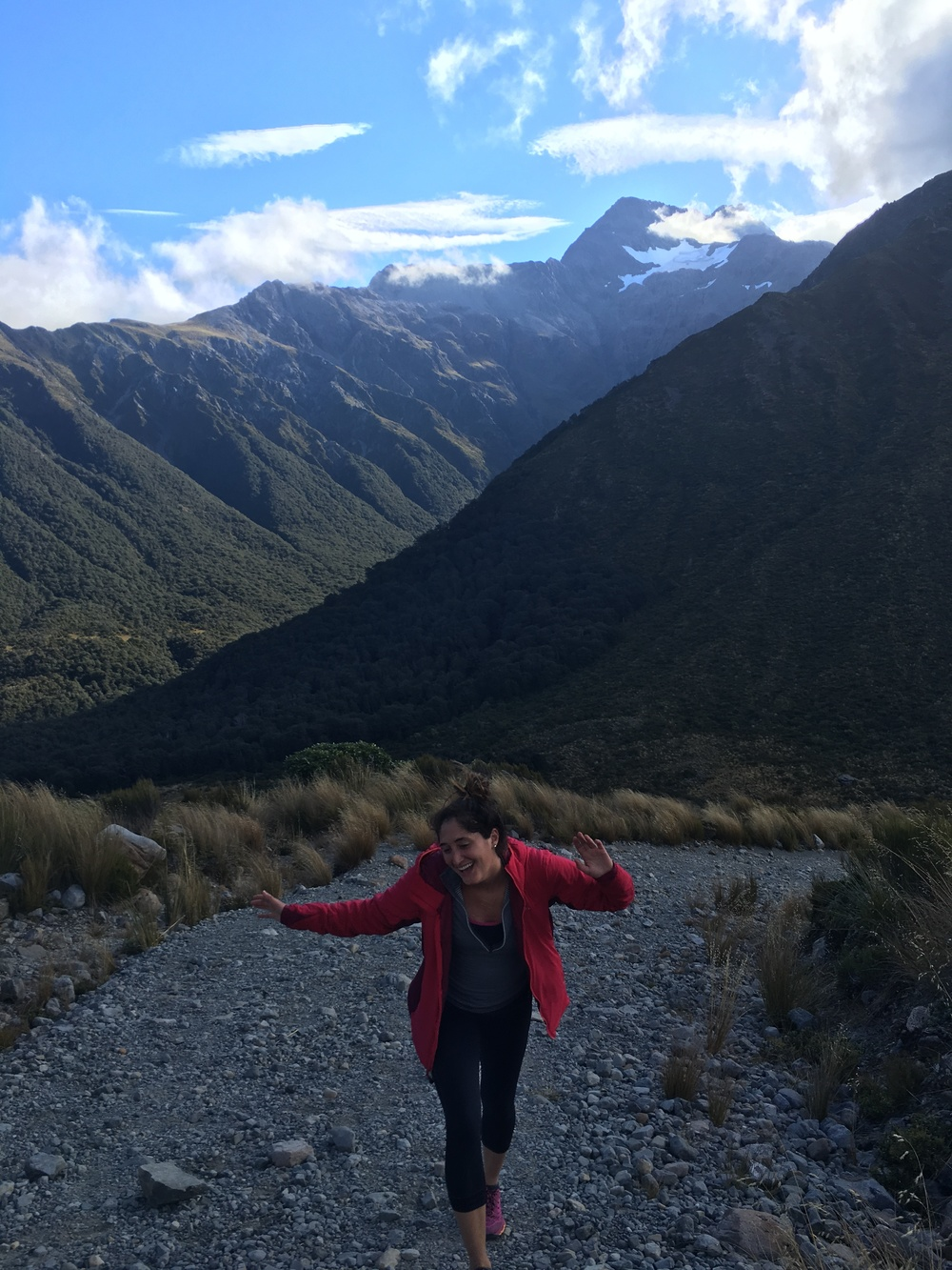 Frolicking on Temple Basin Hike in Arthur's Pass