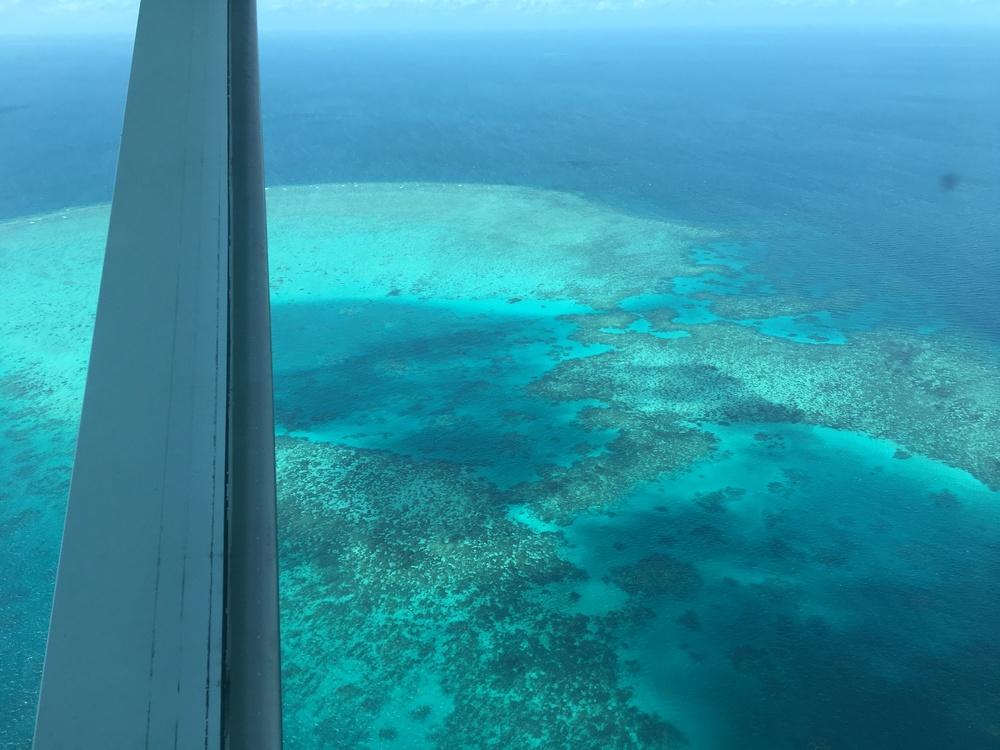 GBR from the plane