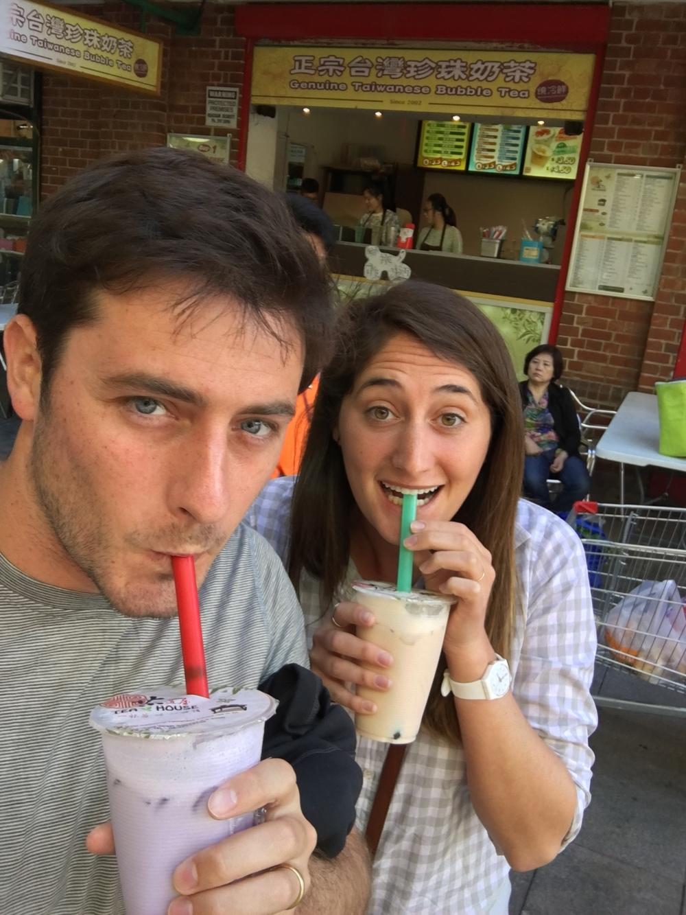 Bubble Tea in Chinatown