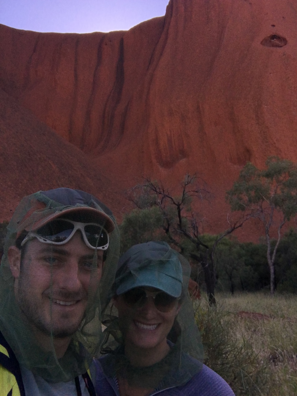 In the shadow of Uluru