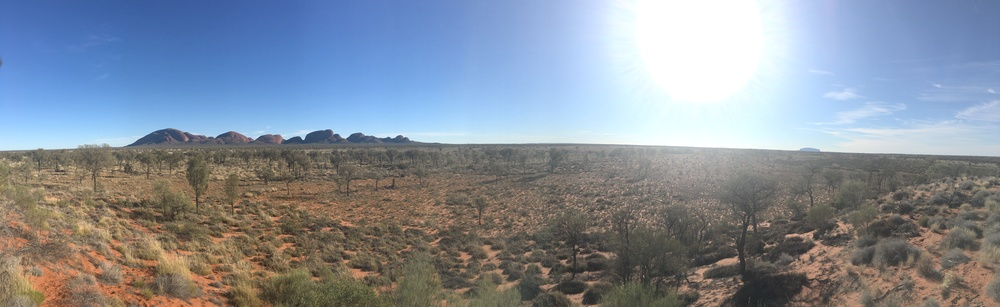 Kata Tjuta and Uluru