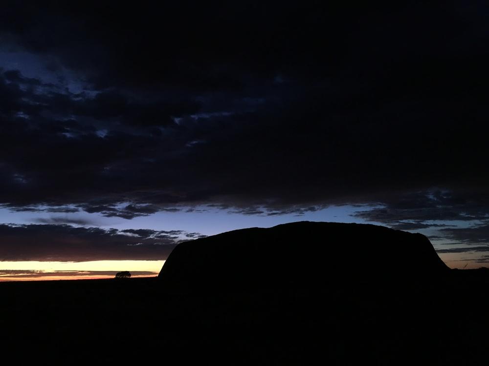 Uluru dawn