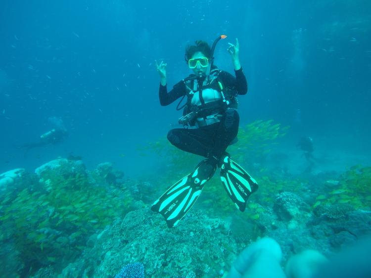 underwater zen