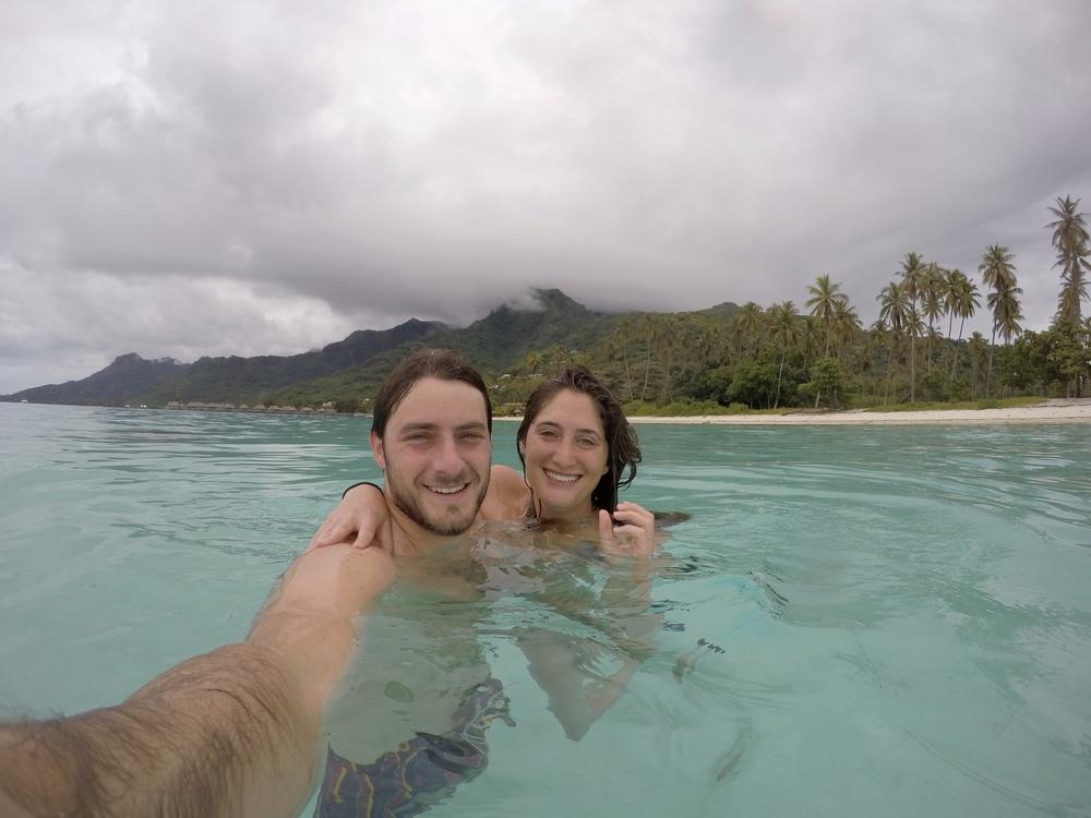 Lagoon swim