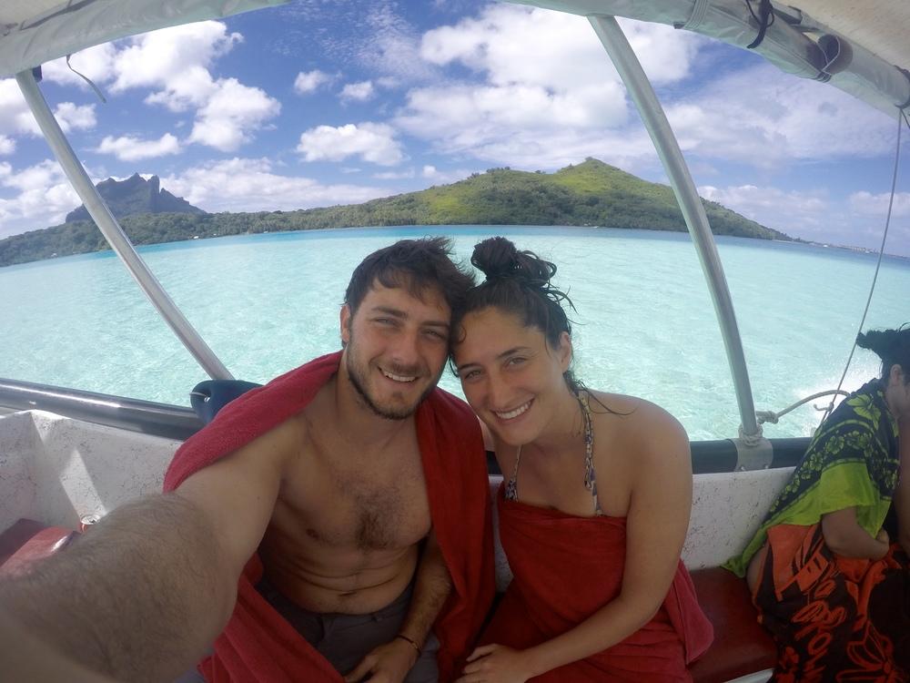 Post snorkel selfie