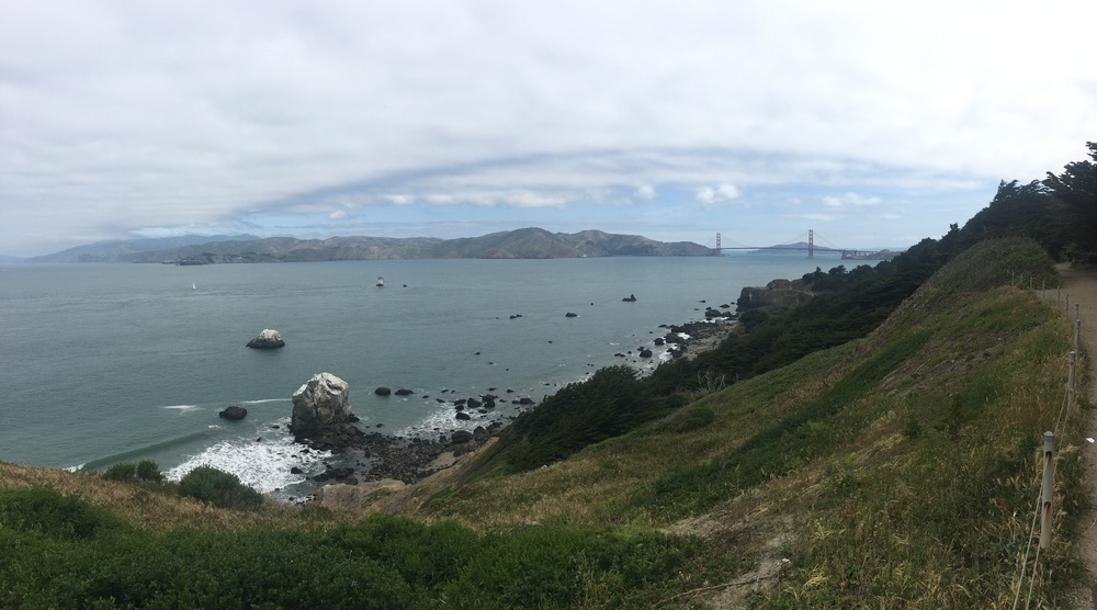 San Francisco hike