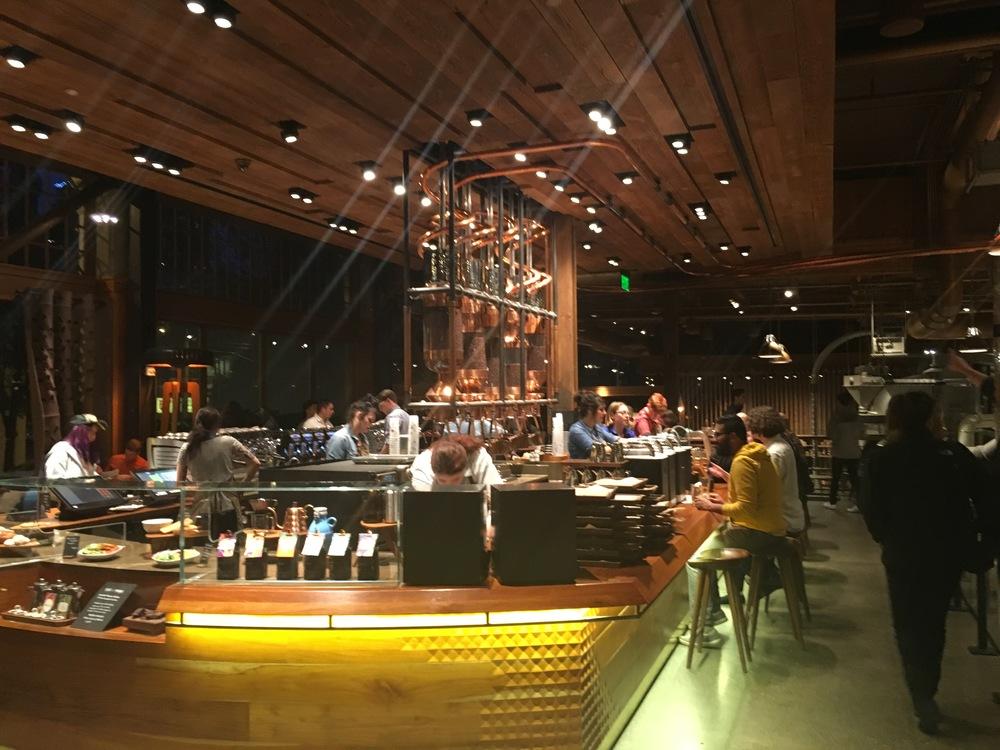 Fancy Starbucks in Seattle