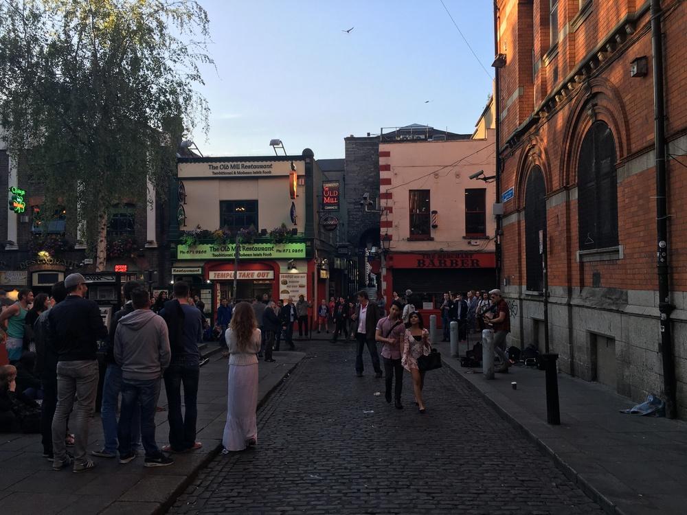 Dublin dusk