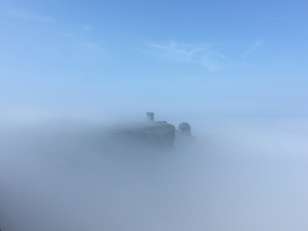 Castle in the Cloud - Cliffs of Moher
