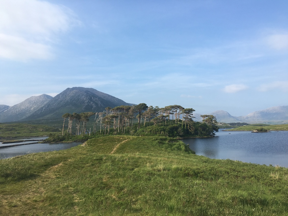 View on the drive to Clifden, Connemara