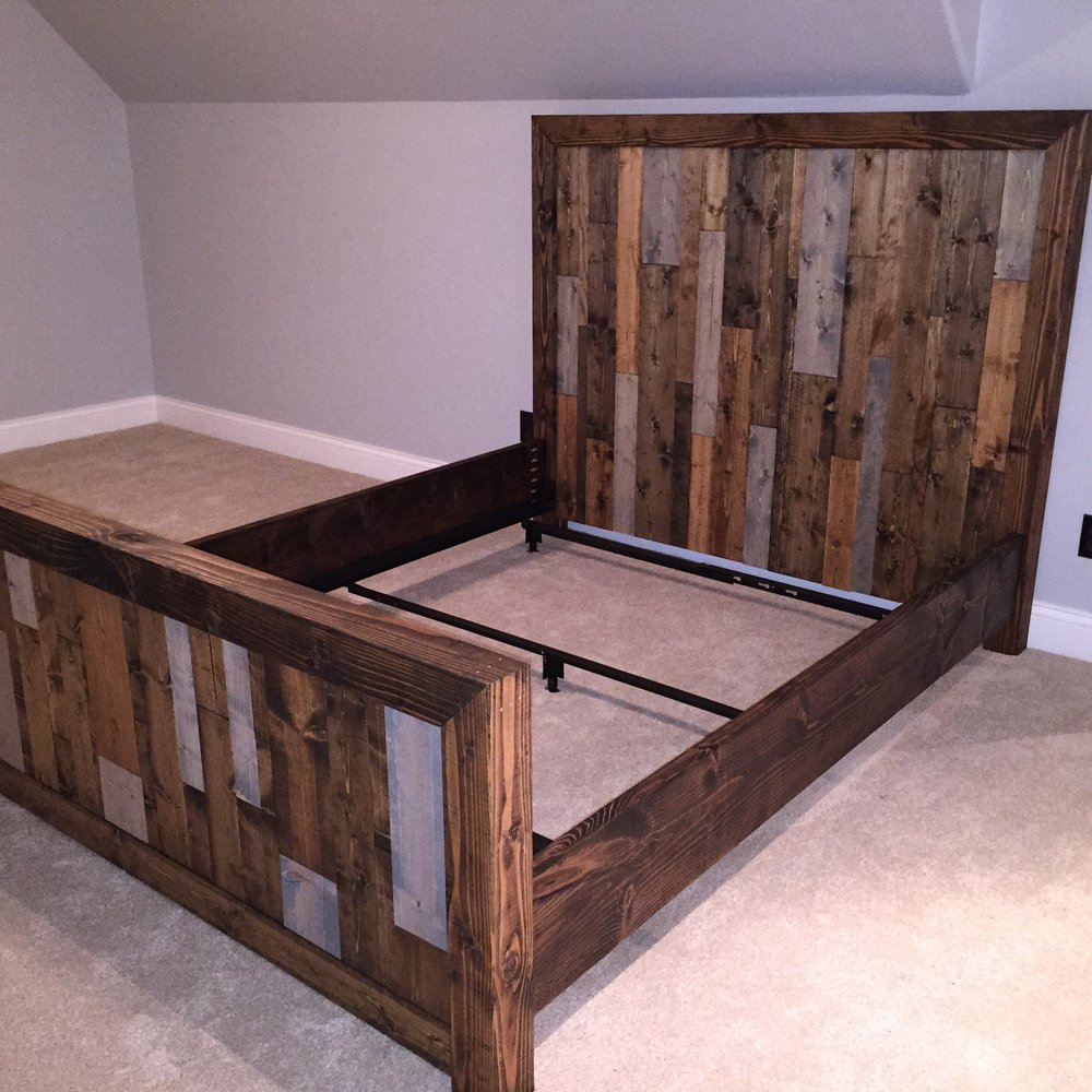 Vertical Slat Bed Frame North Meridian Furniture
