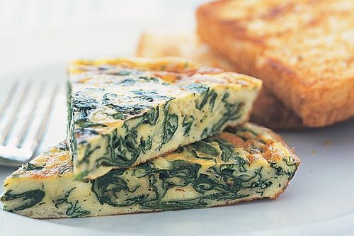 Spinach Frittata Breakfast