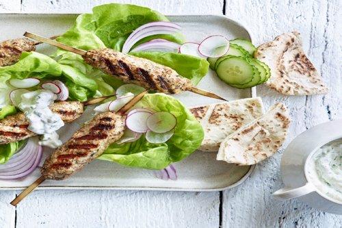 Chicken Satay Lunch