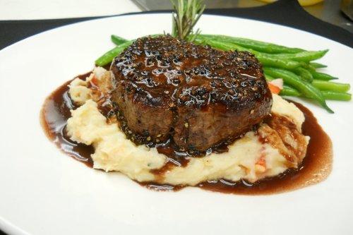 Pan Seared Steak Dinner