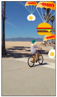 Snapchat filter.