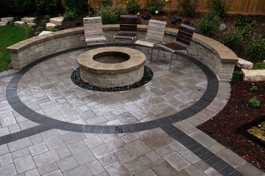 garden design with concrete hardscape u juampr landcape with building a garden box from jrlandscape - Hardscape Design Ideas
