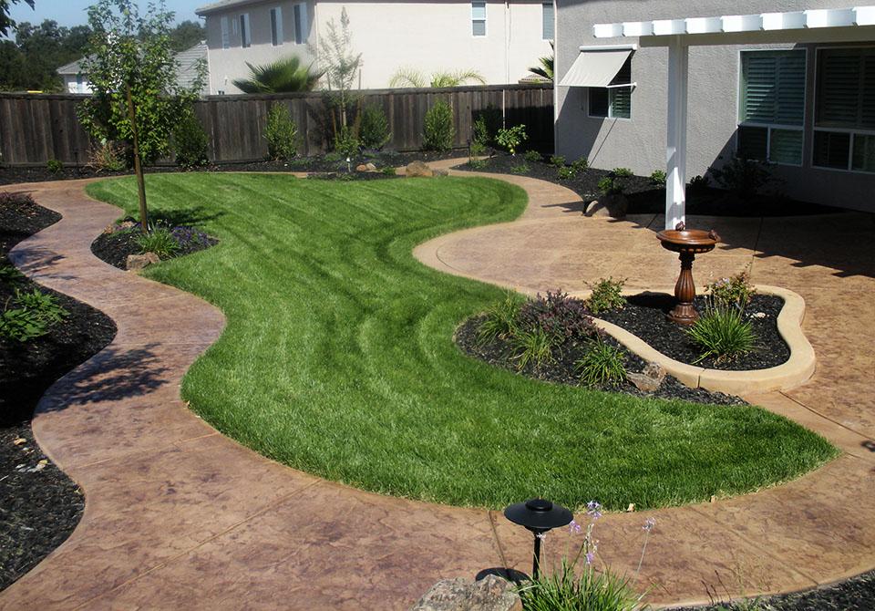Backyard Stamped Concrete Patio Ideas saveemail Awesome Concrete Patio Ideas For Small Backyards Photo Design