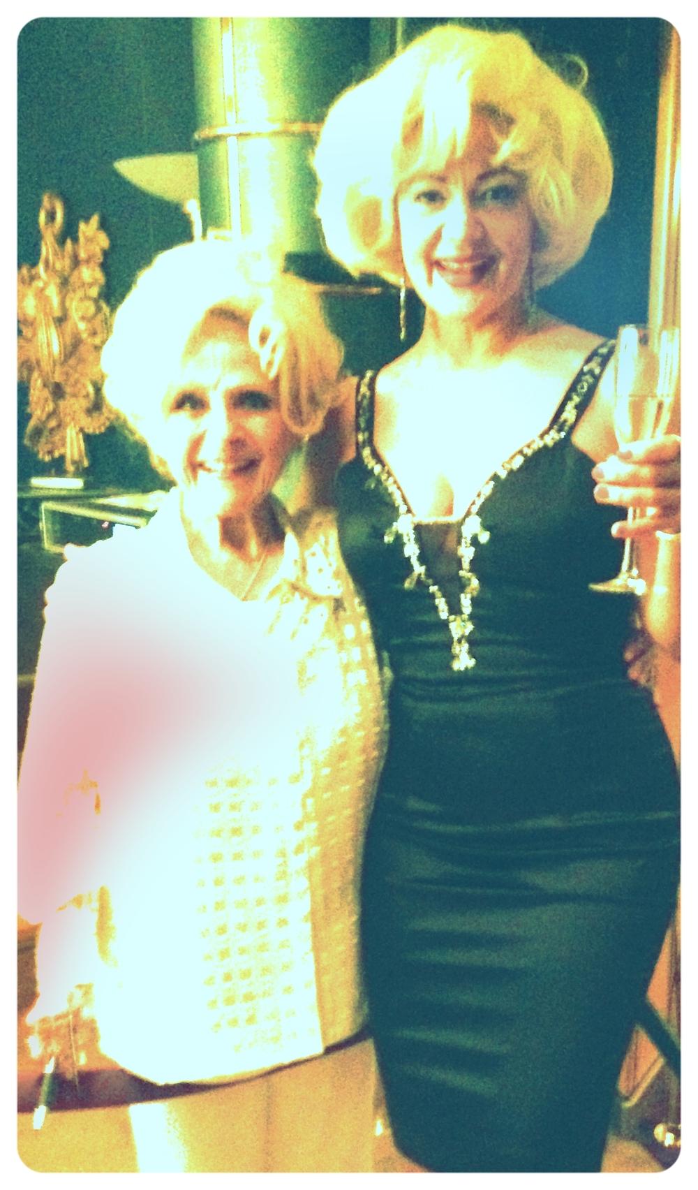 Sheri with Brenda Lee