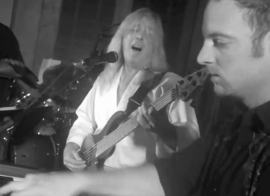 Brian jamming with Cliff Williams (ACDC)